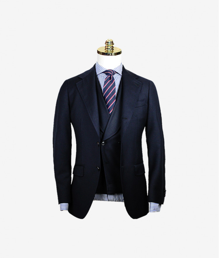 Men's Notch Lapel Slim
