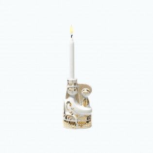 Wax Blue Candle