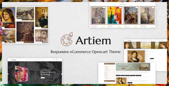 Artiem - Responsive OpenCart Theme