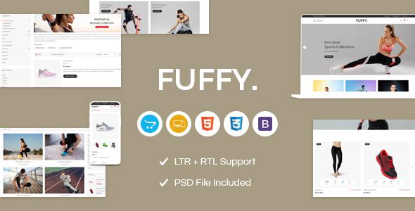 Fuffy - Sports OpenCart Theme