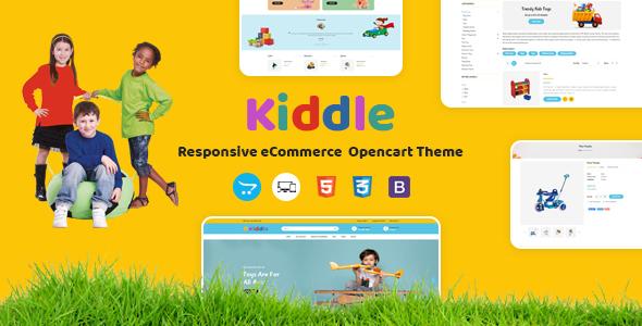Kiddle - Responsive OpenCart Theme