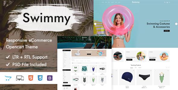 Swimmy - Responsive OpenCart Theme